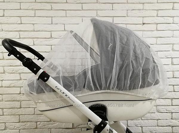 Москитная сетка универсальная на коляску, манеж большая Ok Style Польша
