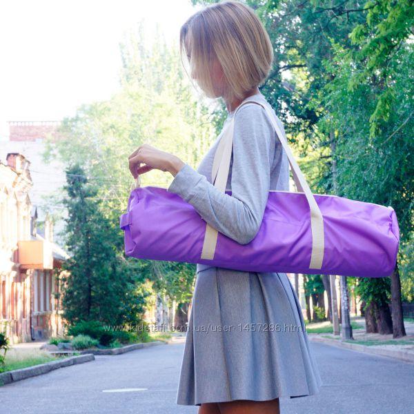 Чехол для йога коврика Foyo Purple Pink