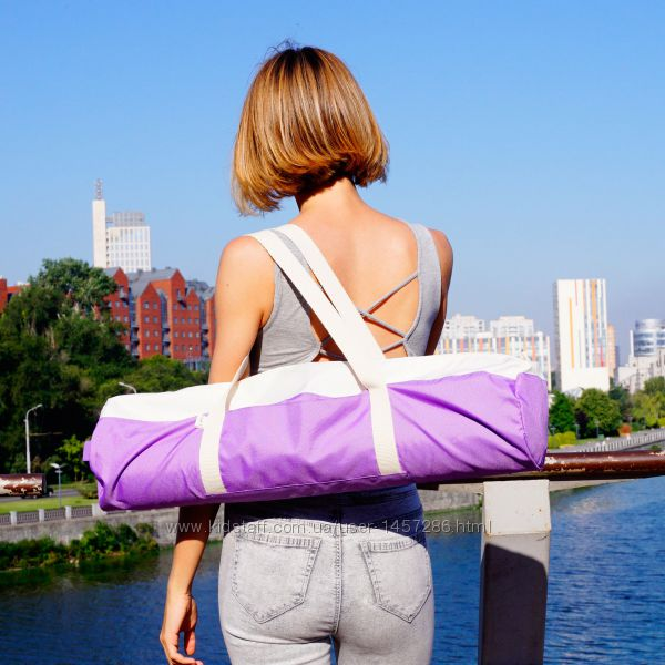 Чехол для йога коврика Foyo Purple Ivory или Pink Ivory