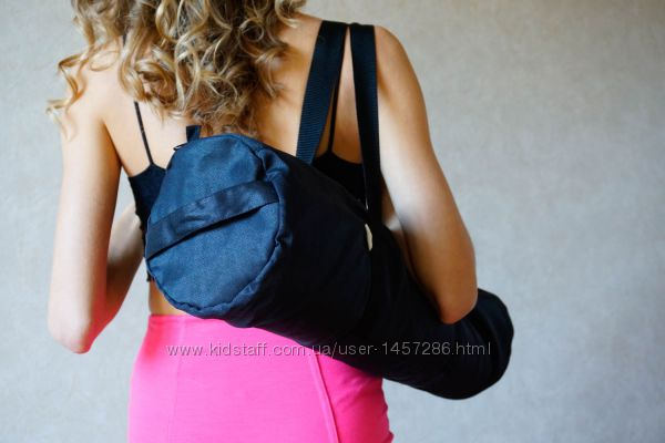 Чехол для йога коврика Foyo Black