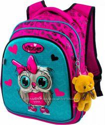 Ранец школьный рюкзак детский для девочек фабричный ортопед Winner 8021