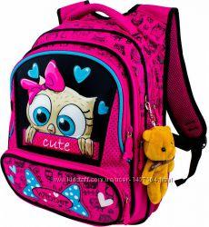 Ранец школьный рюкзак детский для девочек фабричный ортопед Winner 8028