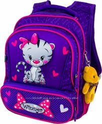 Ранец школьный рюкзак детский для девочек фабричный ортопед Winner8029
