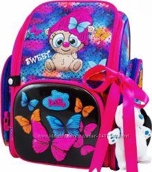 Ранец школьный рюкзак детский ортопедический для девочек фабричный  Delune