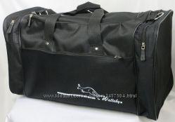 Дорожная сумка Wallaby черная 3050 спортивная для зала