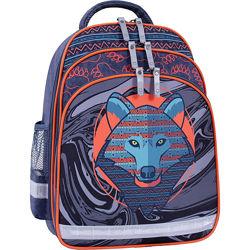Рюкзак школьный Bagland Mouse ранец ортопедический с волком портфель