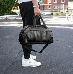 Вместительная спортивная городская сумка Nike для зала фитнеса повседневная