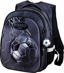 Ранец школьный рюкзак для мальчика 1-4 класс Winner One R1-007 с мячом
