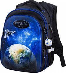Ранец школьный рюкзак для мальчика 1-4 класс Winner One R1-008 космос