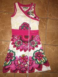 Платье летнее для девочки 9-12 лет в идеальном состоянии