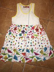 Платье Desigual летнее для девочки 9-12 лет в идеальном