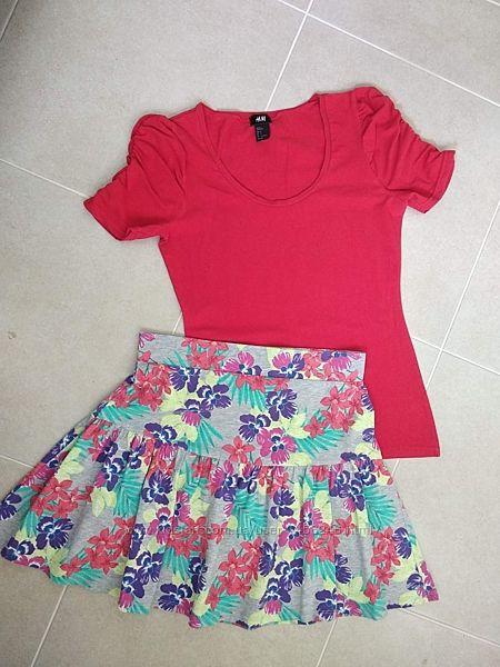Бомбезная модная юбка Tu. размер 10.