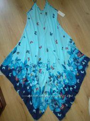 Платье сарафан макси miss one