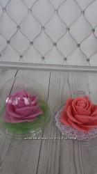 Мыльная роза в куполе