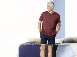 Летний комплект мужская пижама домашний костюм модал Livergy Германия шорты