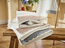 Махровое полотенце с кружевом, биохлопок, Miomare Германия, 70x140