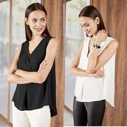 Лёгкая женская шифоновая блуза топ Esmara Германия