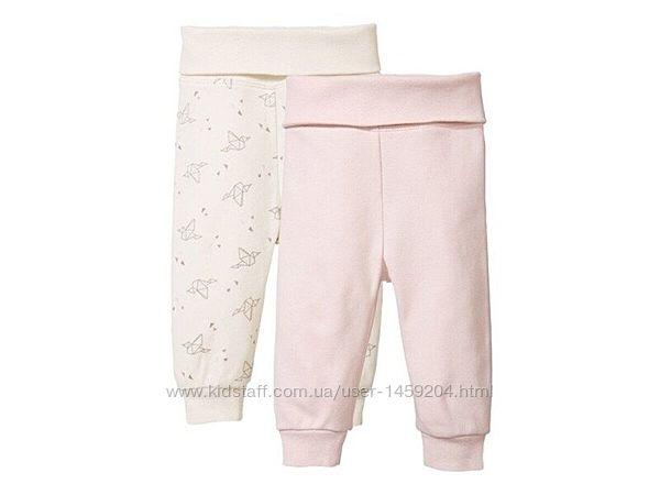 Детские хлопковые штанишки ползунки штаны Lupilu Германия
