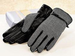 Женские кожаные перчатки Esmara Германия, теплые