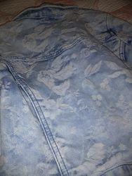 Джинсовая курточка для девочки на рост 110, 5 лет