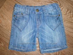 Шорты джинсовые на мальчика 5-6лет F&F