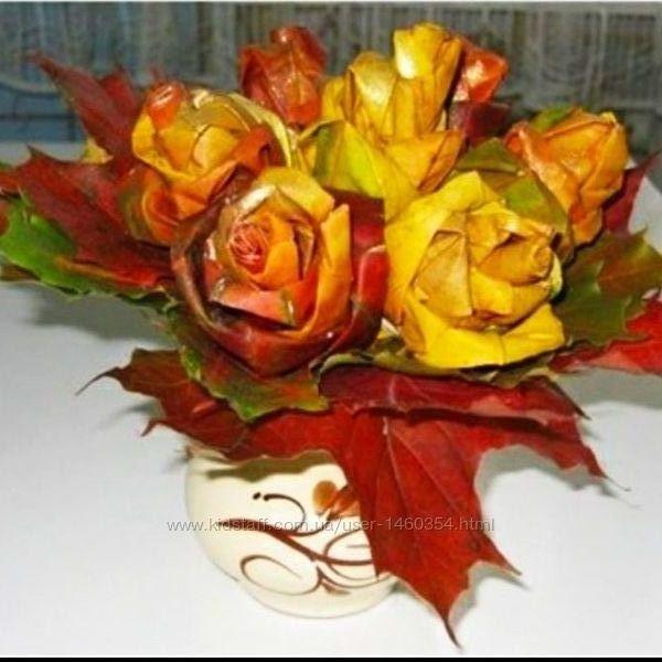 Осенняя поделка осень Осенний букет