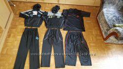 Спортивный костюм D&G в школу M и XL черный с серым, дешево