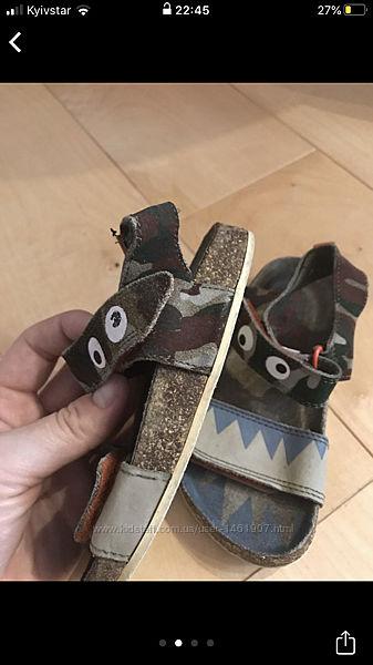 Босоножки сандалі нехт 8розм. , шкіряні
