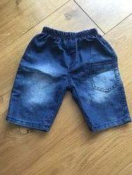 Джинсові шорти на хлопчика 2-3 роки