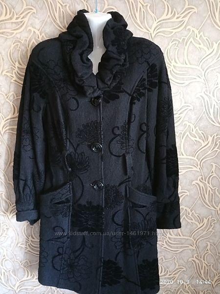 Шикарное, стильное пальто diana/размер м