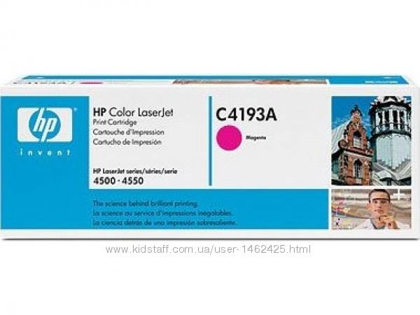 Картридж для лазерных принтеров-МФУ HP CLJ4500-4550 magenta C4193A