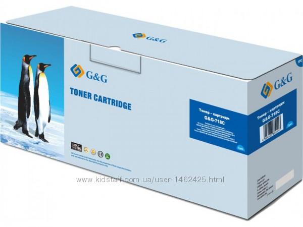 Картридж для лазерных принтеров-МФУ G&G Canon LBP7200-76XX-MF83XX Yellow G