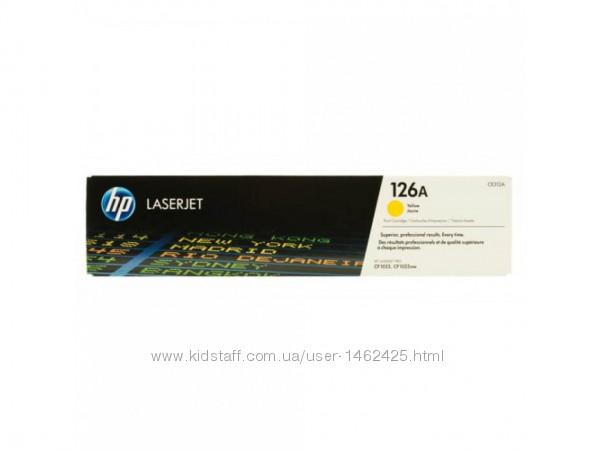 Картридж для принтера-МФУ HP HP CE312A LJ CP1025 Yellow