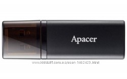 Флеш USB Apacer AH23B 64GB Black AP64GAH23BB-1