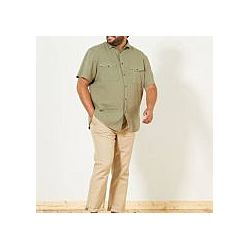 Рубашка, брюки мужская льняная большой размер батал
