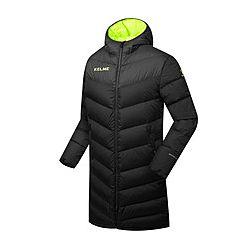 Демисезонная, зимняя длинная куртка для футбола, футбольное пальто - куртк
