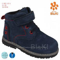Ботинки демисезонные ТМ Bi&Ki. 21-26р. Кожаные. Ортопедические.