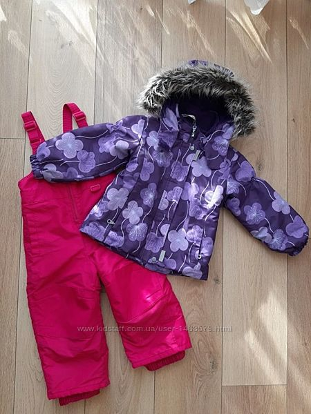 Зимния куртка, штаны, комбинезон lessie by reima 92