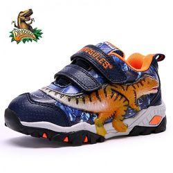Детские светящиеся кроссовки с 3D динозаврами Dinosoles, в ассортименте