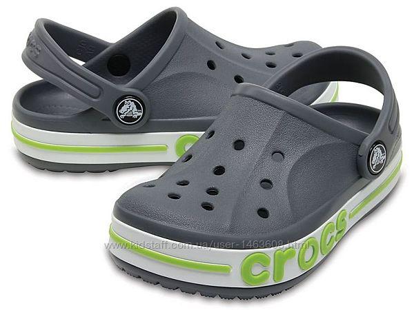 Детские кроксы, сабо Crocs Kids Bayaband Clog оригинал, в ассортименте