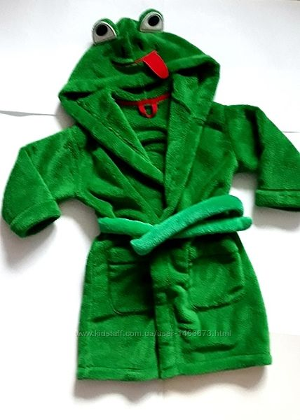 Меховой халат жабка 2-3 г. M&S