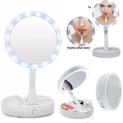 Круглое зеркало с Led Лед подсветкой для макияжа