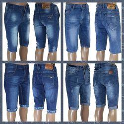 Мужские джинсовые бриджи. В наличии