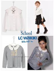 Школьная блузка рубашка реглан LC WAIKIKI 8-12 лет для девочки