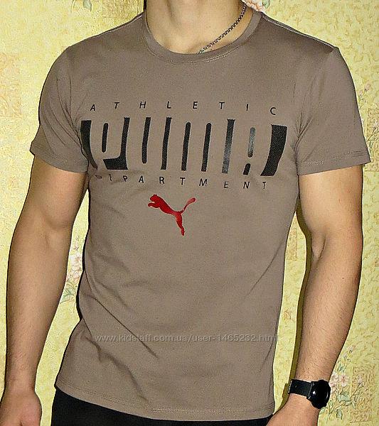 Коллекция спортивных  футболок  Puma