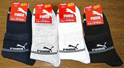 Мужские спортивные носки Puma стрейч Турция  р. 41-44.