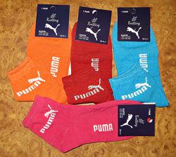 Женские спортивные носки Puma стрейч Турция р. 36-41