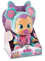 Кукла Cry Babies Плакса ЛедиБаг, Лиа , Лала, Фламинго, Зайка