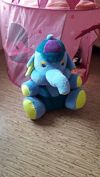 Слон большой 60 см мягкая игрушка