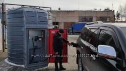 Мини АЗС Италия с резервуаром SWIMER 5, 10 тон для диз топлива